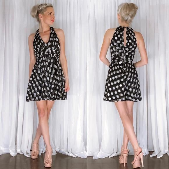 White House Black Market Dresses & Skirts - Polka Dot Flirty Fun Party Dress